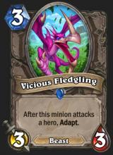 A powerful minion that has the ability to snowball into an easy early game win.