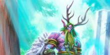 A friend of nature, Malfurion calls upon the forest to bring doom to his enemies.
