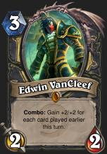 A Legendary Rogue card capable of outright winning the game on the second turn.