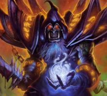 A former orc shaman, Gul'dan embraced the power of darkness and formed an alliance with demons.