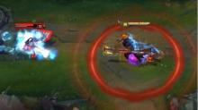 Take special note of the damage being dealt in this image. Hecarim's charge is deadly to squishy targets.