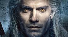 Henry Cavill portraying Geralt of Rivia