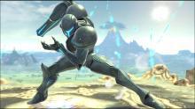 Dark Samus has a cameo appearance in Metroid Prime