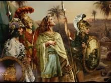 The Greeks idolized military heros and wrote epic peoms about their battles and trials.