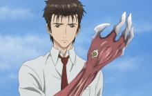 Migi can transform into a deadly mail.
