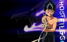Hiei and his darkness dragon