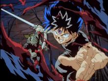 Hiei is unstoppable