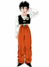 The world's been at peace for a few years since the Cell Games, and Gohan is now just trying to be a normal kid in high-school. Having grown up in the boonies, though, he tends to come across as more than a little naive at times.