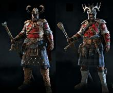 Two very good examples of the versatility of Highlander's fashion