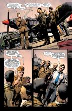 This comic tackles the harsh reality circumstances Black American soldiers faced
