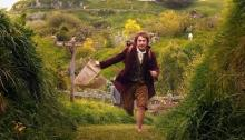 An excited Bilbo ready to begin an adventure