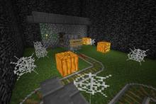 Create unique and exciting pathways through haunted houses, or adventures in graveyards.