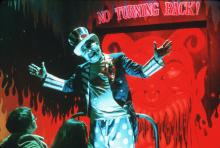 Captain Spaulding, the classic scary clown