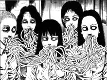 Japanese manga knows how to make the innocent creepy.