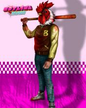 In Hotline Miami, you can beat people up while wearing a chicken mask.