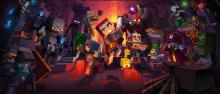Promotional photo for Minecraft Dungeons