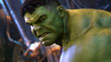 In Avengers: Infinity War, Thanos takes down Hulk in a brawl, proving that Hulk can be beat in short battles