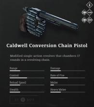 The Caldwell Conversion Chain Pistol