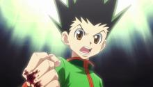 Despite Gon's youth, he is determined to become a hunter