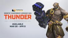 The skin awarded to the winner of the OWL Grand Finals, and now available to the public for a limited time