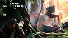 Rebels hide as Empire pushes them back on Endor.