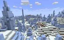 Bring the Arctic to your home! These tundra biomes are perfect for creating igloos, ice castles, and other winter wonderland adventures.