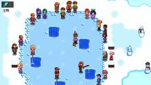 During the Ice Festival event, players get to participate in an ice fishing event!