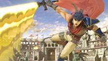 Ike strikes his opponents down