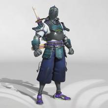 Genji in his Kendoka skin