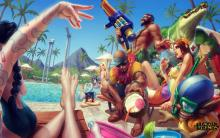 You can't be a hater when you're in Pool Party skins!