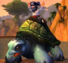 One of the most useless and coveted mounts in the game. Isn't it cute?