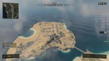 What Nuketown island looks like from above