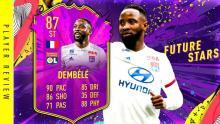 Future stars Dembele failed to make the list.