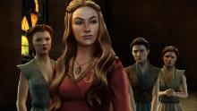 Even when animated, Cersei nails that look of disgust.