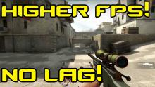 It's obvious that the higher your FPS are, the smoother the game will run thus resulting in almost no lag. Which is exactly what we need for competitive CSGO.
