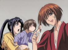 The ending he deserves, Kenshin decides to spend his remaining years along side the people he cherishes the most.