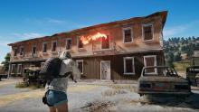 Scavenge buildings and upgrade your weapons to be the last one standing.