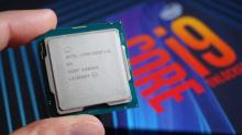 A super close look at the 9900k chip!