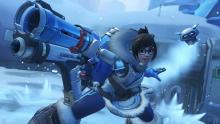 A screenshot of Mei's classic highlight intro.