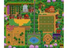 An amazingly layed out farm through and through.