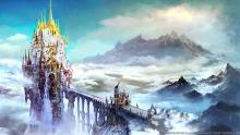 The holy city of Ishgard, Home of the dragoons