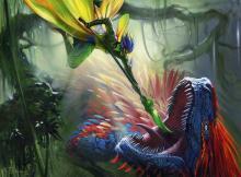 Dinosaurs rarely venture into merfolk territory