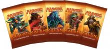 Booster packs from the Ixalan expansion