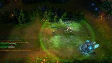 Janna's ultimate, Monsoon, displayed in-game.