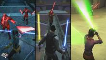 The various play styles of Jedi Academy gave the player unprecedented customization.
