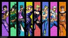 All of the protagonists of JoJo's Bizarre Adventure from the 1800's to today