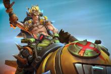 Junkrat in his Heroes of the Storm look.