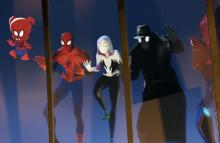 Get to meet all the different alternate world versions of Spider-man by watching Spider-Man: Into the Spider-verse.