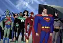 Watch your favorite DC heroes team up and protect humanity.