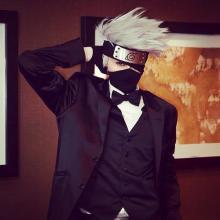 Kakashi in his formal suit